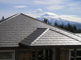 Naujas stogas namui